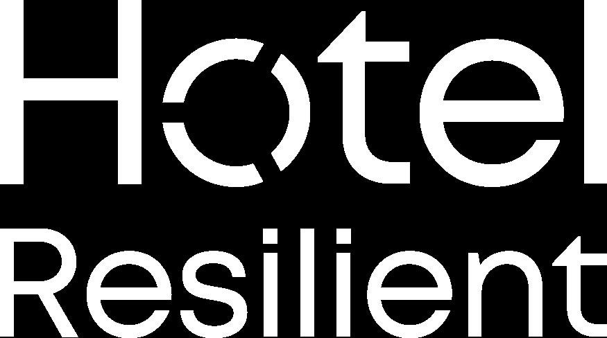HotelResilient Logo White